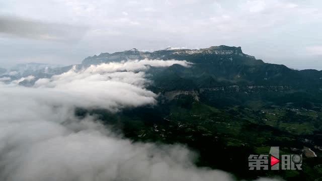美哭!金佛山绝壁惊现云瀑美景