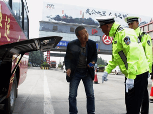 平陆交警开展客运车辆专项整治行动
