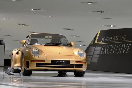比如你可以打造一台金色的959