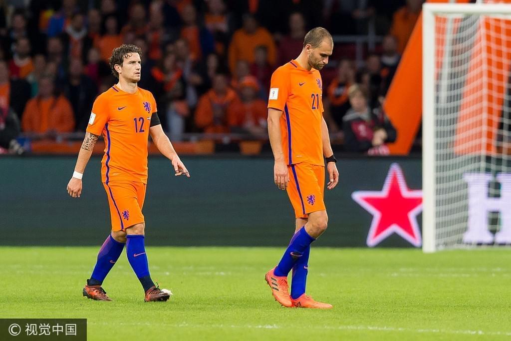 从无冕到无缘 荷兰重蹈两年前覆辙 要成下个捷克?