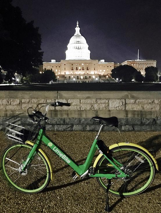 美国共享单车LimeBike宣布完成B轮5000万美元融资