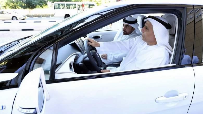 中东首辆氢燃料出租车迪拜试运行 使用丰田Mirai