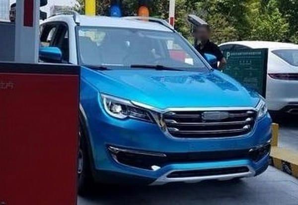 命名X70 开瑞全新7座SUV无伪谍照曝光