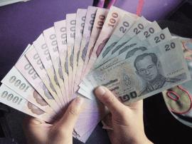 """7194万泰铢现钞""""搭飞机""""来南宁了"""