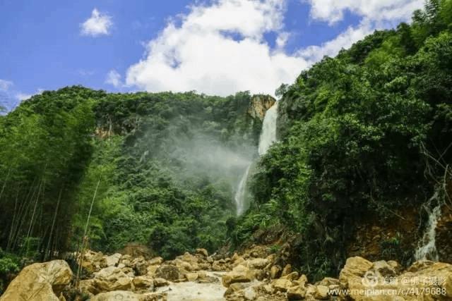 新江有两处美得让你叹为观止的瀑布 你心动了没?