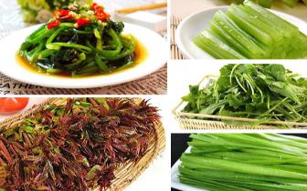 春天多吃五种蔬菜 尝鲜还养生!