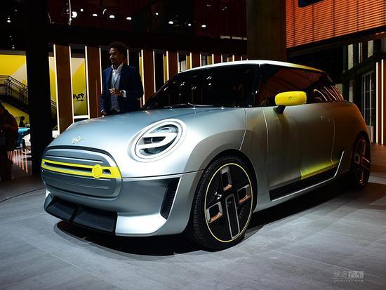 细节有意思 MINI Electric概念车发布