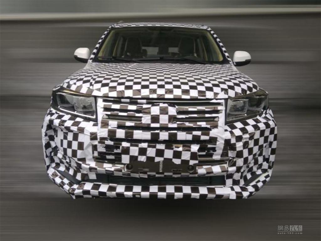 预计上半年上市 北汽幻速全新SUV谍照