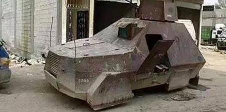 """奇瑞QQ变""""坦克"""" 自主车在叙利亚又火了"""