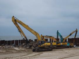 长乐机场二期先行工程陆域3大项目进展顺利