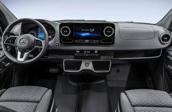实用性提升 奔驰全新一代Sprinter发布