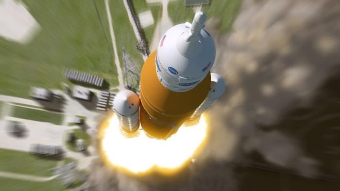 NASA巨无霸火箭引擎准备就绪 载人去火星有望