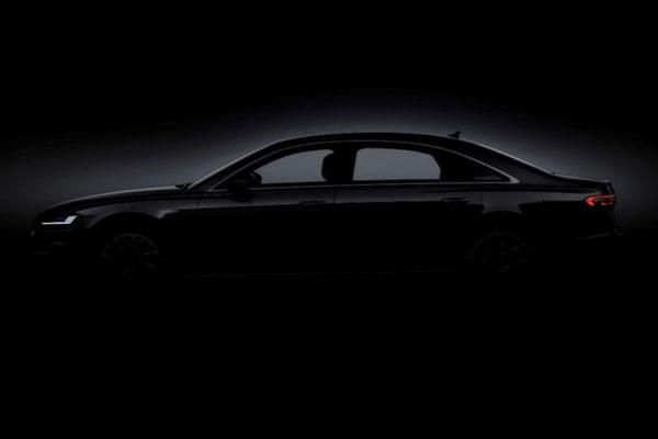 看奥迪品牌峰会发布全新A8送20辆R18