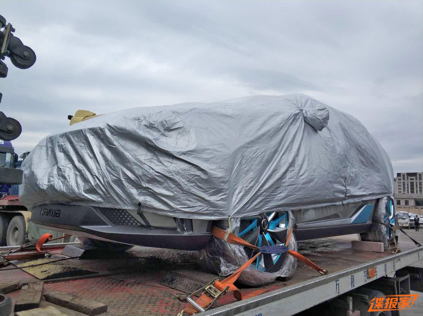 预示下一步方向 海马全新概念SUV曝光
