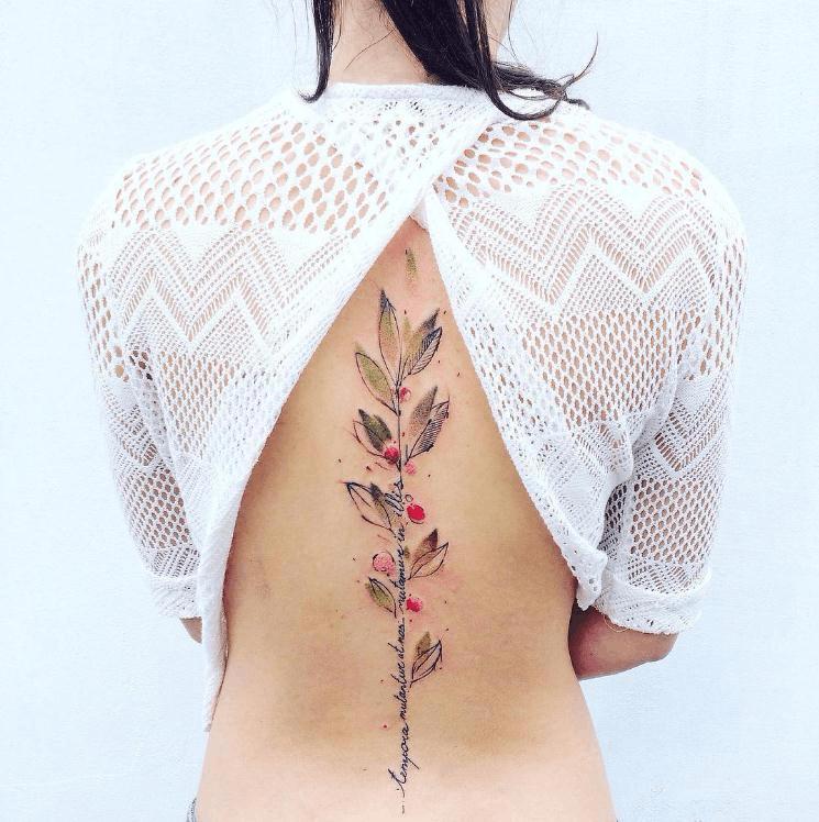 艺术刺青给皮肤绘上温柔的力量