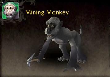 魔兽7.2.5宠物地下城奖励 死亡矿井的挖矿猴