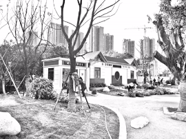 榕部分串珠公园将配建公厕、图书馆 打造林下空间