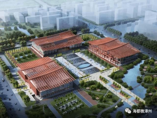 漳州市博物馆、艺术馆、规划馆很快与市民见面