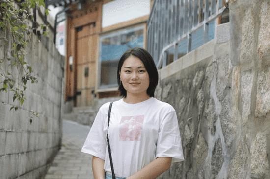 马子雯同学接受采访