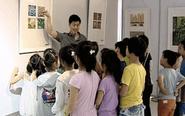 市文化馆开展少儿版画展至7月20日