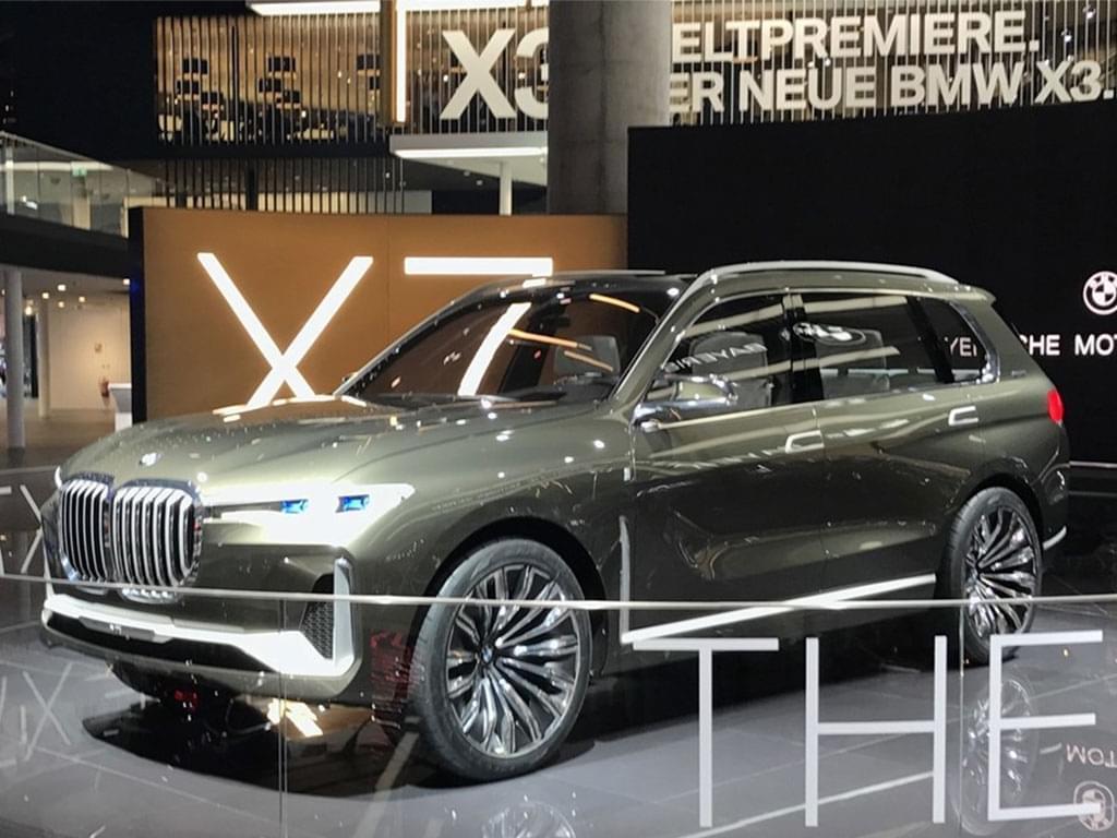2017法兰克福车展探馆:宝马X7概念车