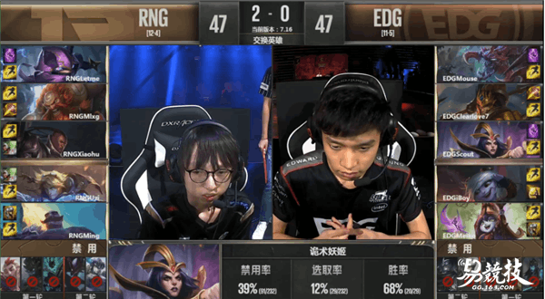 EDG VS RNG