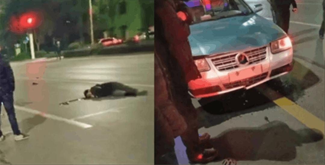 男子骑电动车闯红灯被撞身亡 疑似酒驾