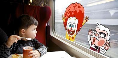 """高铁上可以订外卖了!肯德基、麦当劳率先""""上车""""!"""