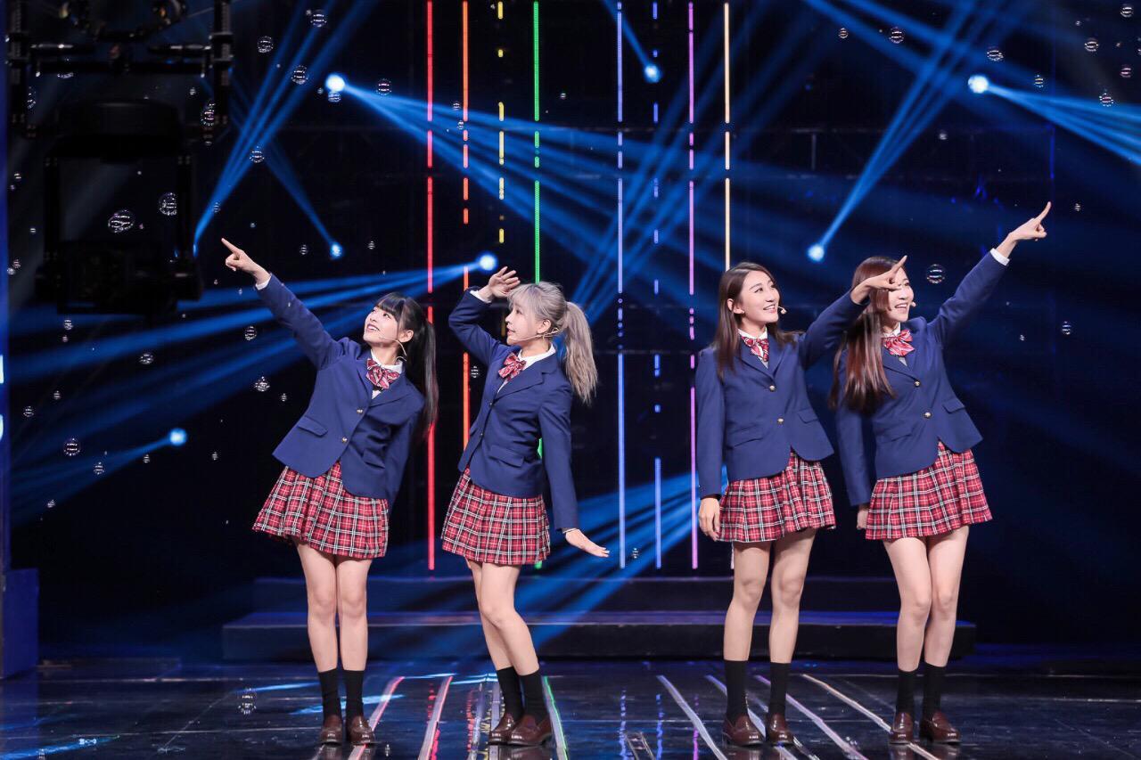 SING女团再登央视《开门大吉》实力为春晚预热