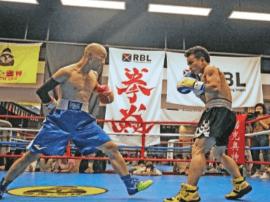 全国拳击联赛华中地区选拔赛在宜昌举行