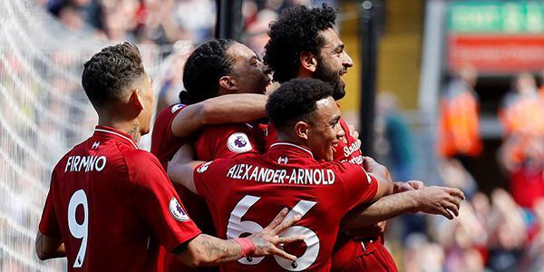 萨拉赫传射建功 利物浦4-0大胜锁定欧冠资格