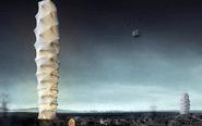 能压缩能折叠的摩天大楼