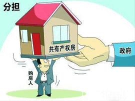 """共有产权住房是""""三位一体""""的新型住房"""