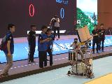 全国大学生机器人大赛余姚开战 机器人上演文人雅趣