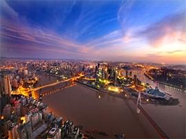 一带一路和长江经济带在这交汇