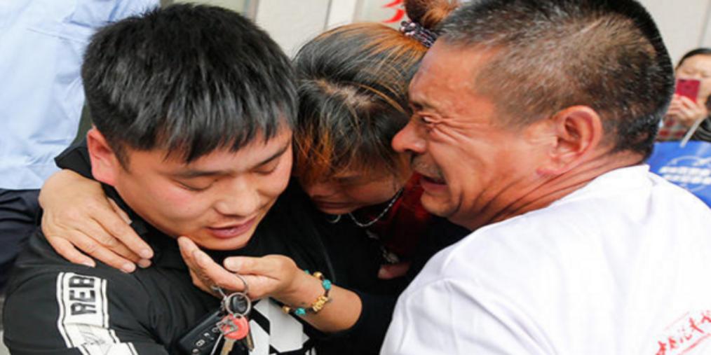 南阳4岁男孩遭拐22年后被找到