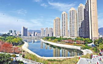 福州琴亭湖公园 今年春节可观赏庭院花园