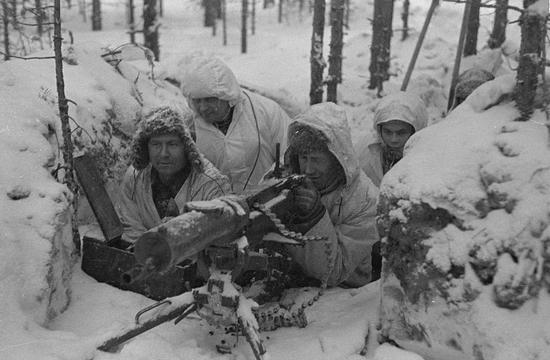六:冬季战争中的芬兰士兵