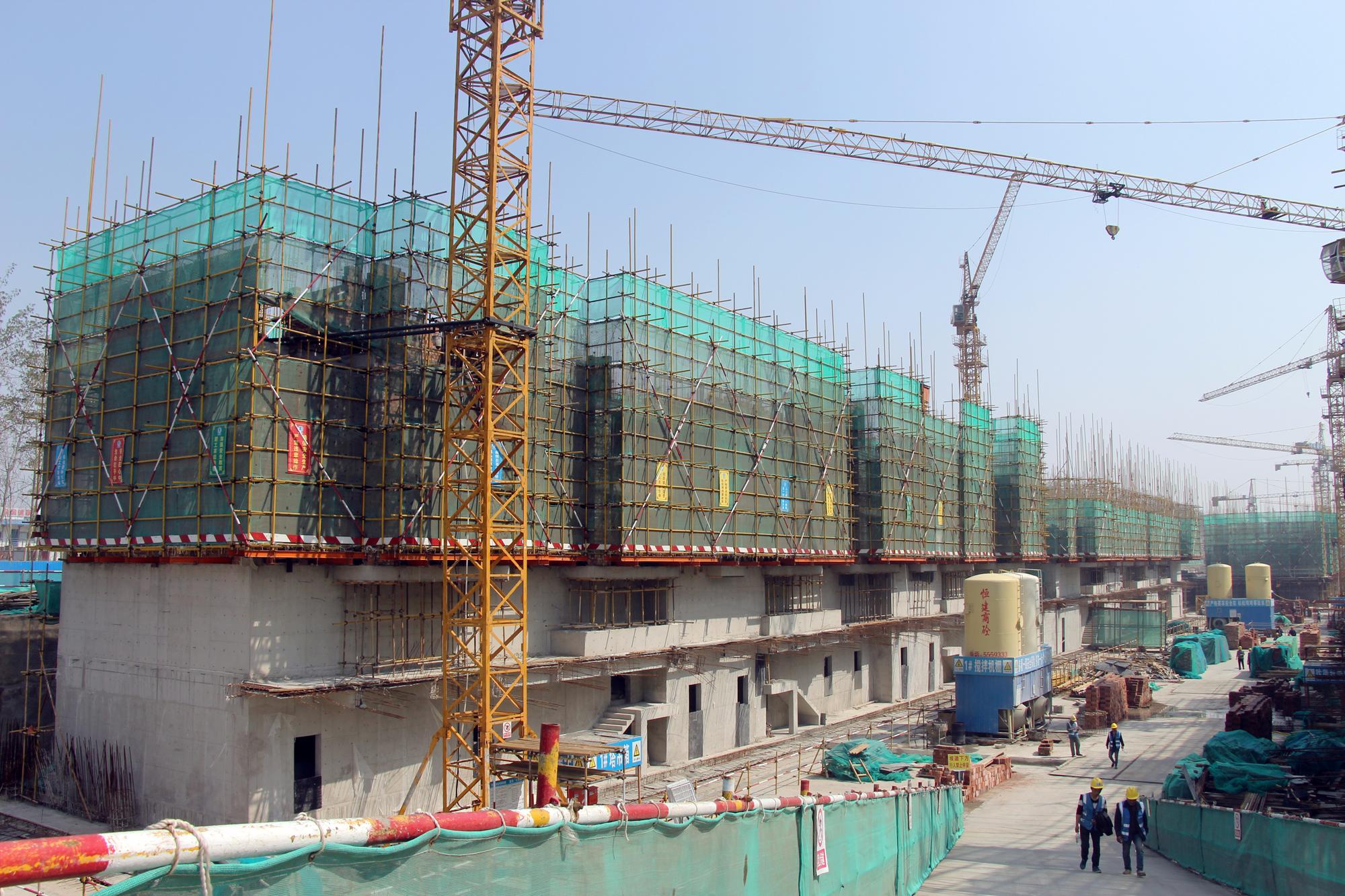 速度!嘉亿国际二期住宅已建至地上3层