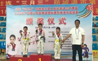 防城港市第二届跆拳道公开赛圆满落幕!