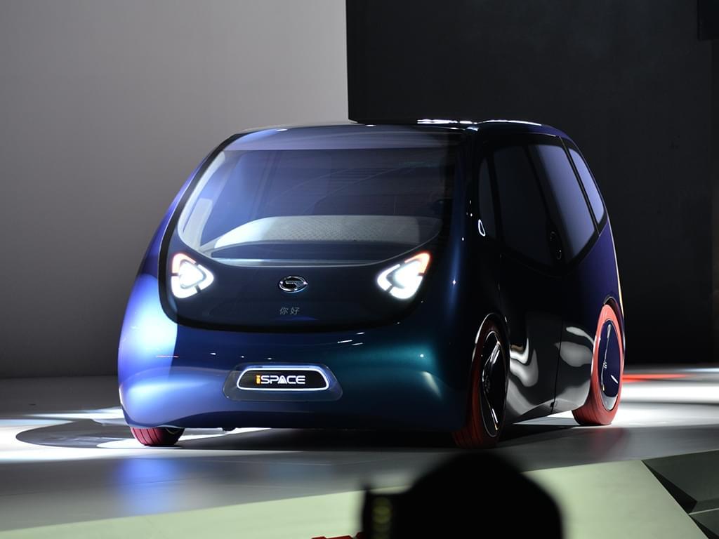 纯电驱动 广汽iSPACE智联概念车首次亮相