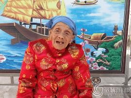 104岁老寿星养育9个儿女 五世同堂祖居闻喜