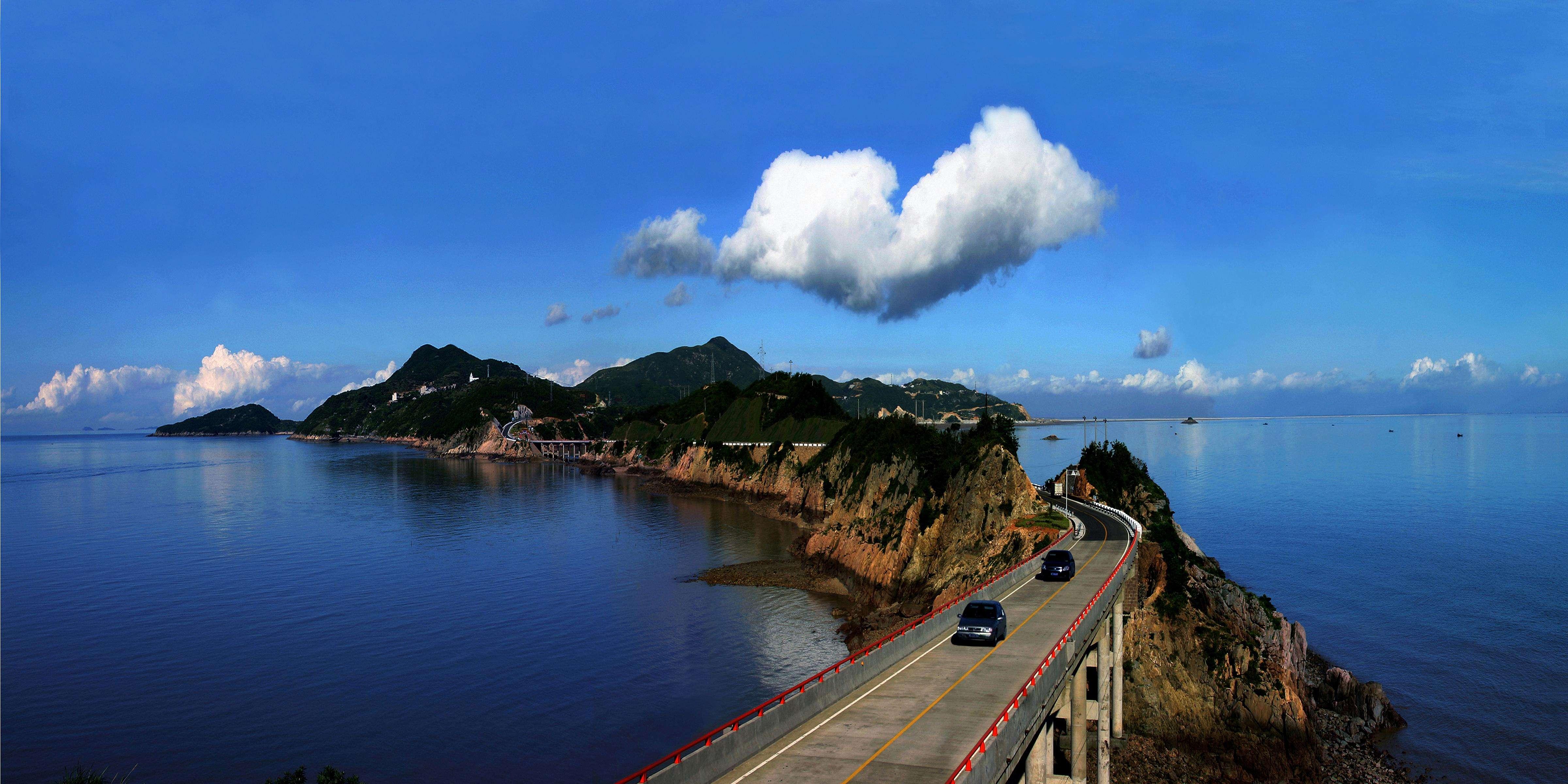 两岸同胞情 温州离台湾只有半座山的距离