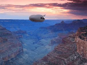"""世界最大飞行器将成""""空中游轮"""""""