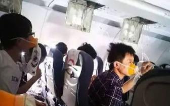 川航客机玻璃破裂副驾半身吸出窗外 机长安全迫降