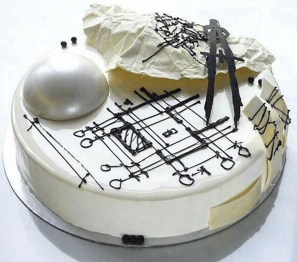 当建筑师恋上烘焙 这些蛋糕真是美到让人窒息!