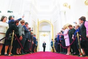 普京就职演讲:俄面临历史性抉择 定会取得成功