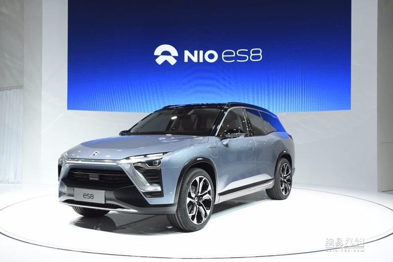 2017上海车展:蔚来汽车最新量产车ES8首发