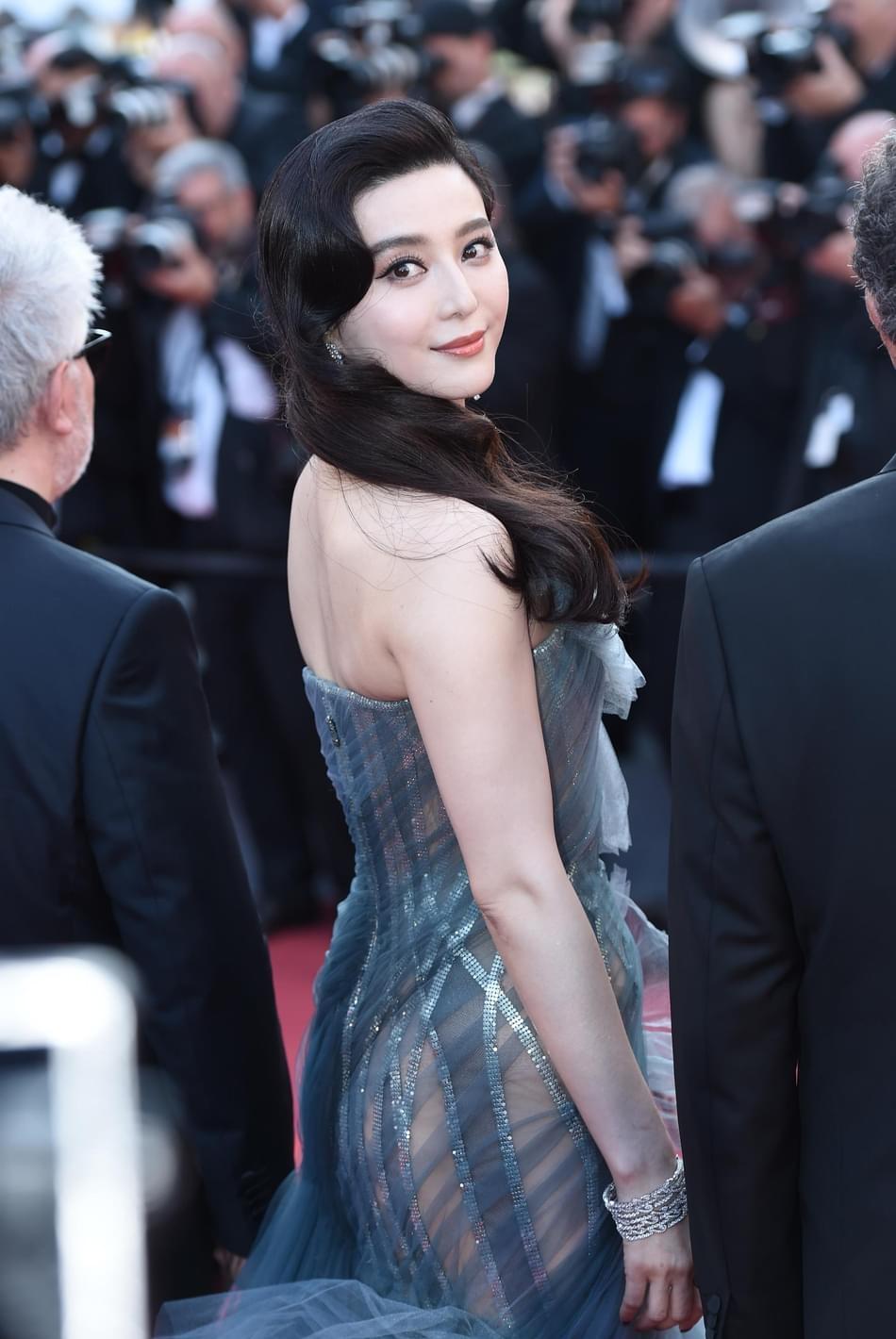范冰冰:遗憾华语片未入围戛纳竞赛 支持电影分级