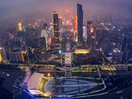 广州新世纪中轴线20年加冠礼 17年房价涨10余倍